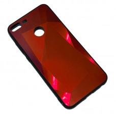 Пластиковый чехол для Huawei Honor 9 Lite Diamond Красный