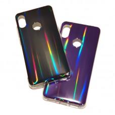 Силиконовый чехол Holo Colors для Xiaomi Mi 8 lite фиолетовый