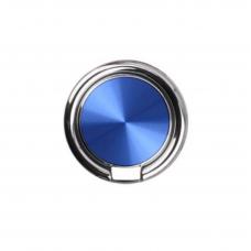 """Кольцо-держатель для телефона """"Круг"""" Синий (поворот 360 градусов)"""