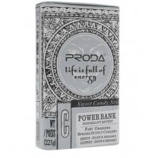 Портативный аккумулятор Remax Cool taste PPL-24 10000 mAh серый