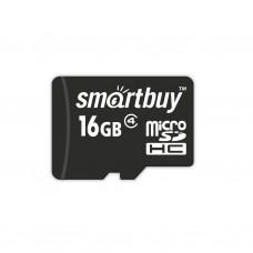Карта памяти Smartbuy microSDHC 16GB Class 10