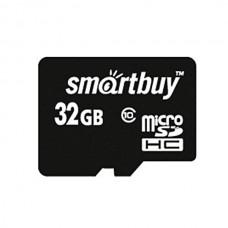 Карта памяти Smartbuy microSDHC 32GB Class 10