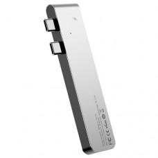 USB-концентратор Baseus Thunderbolt C+ (CAHUB), разъемов: 5