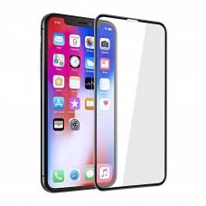 5D защитное стекло для iPhone XR черное