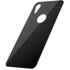 Защитное стекло для задней панели iPhone XR черное