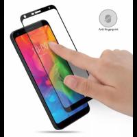 Закаленное 5D защитное стекло на Xiaomi Redmi 6A Black (Черный)