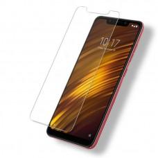 2.5D защитное стекло на Xiaomi Pocophone F1